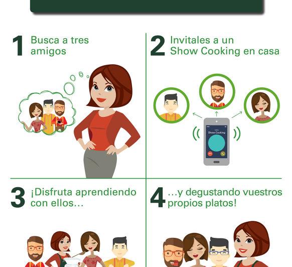 SHOW COOKING - TODO UNA EXPERIENCIA CULINARIA!!!