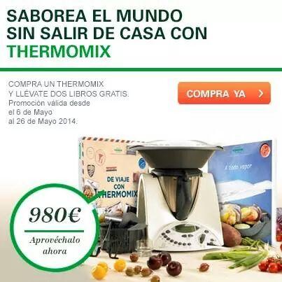 COCINA SANA E INTERNACIONAL CON TU Thermomix®