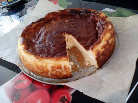 TARTA DE QUESO Thermomix® FACILÍSIMA