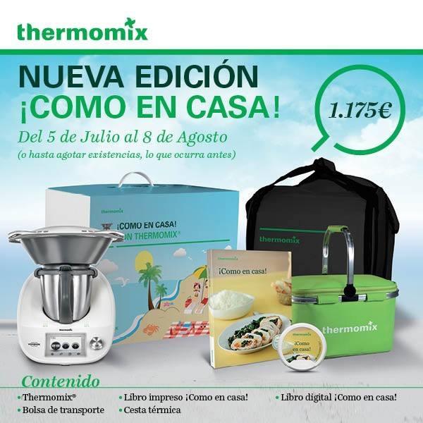 Thermomix® JAÉN - Edición , ¡ Cómo en casa !