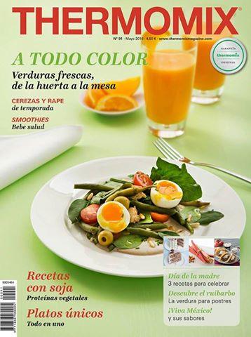Revista Thermomix® Mayo 2016