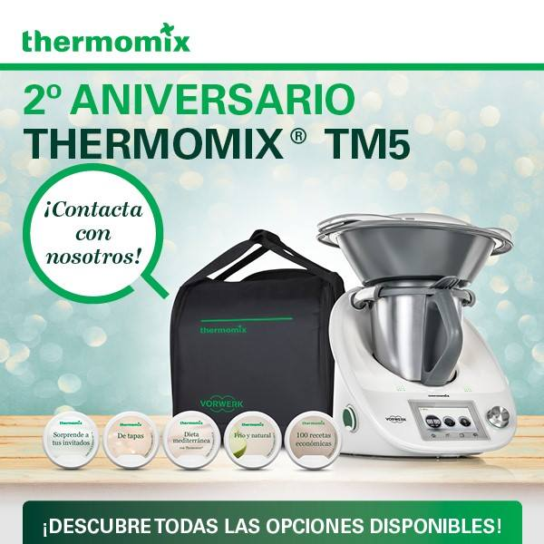 Thermomix® TM5 2º ANIVERSARIO
