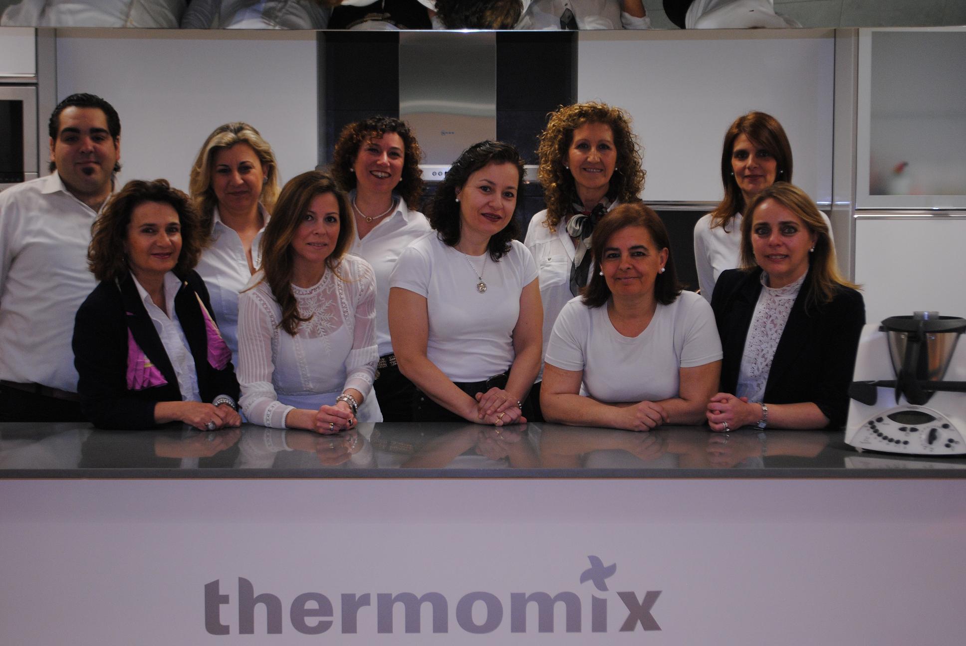 Parte de nuestro equipo en Thermomix® Jaén