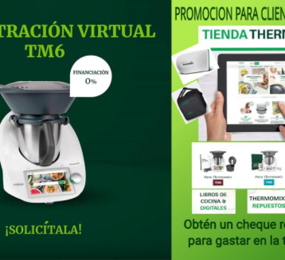 Promocion clientes y no clientes de Thermomix®