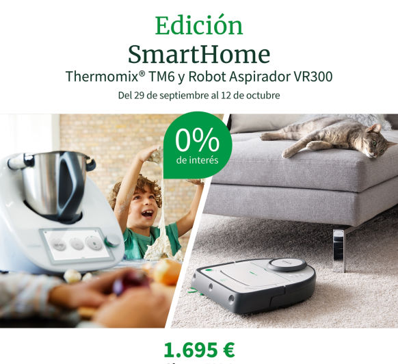 """EDICIÓN LIMITADA """"SMART HOME"""" AL 0%"""