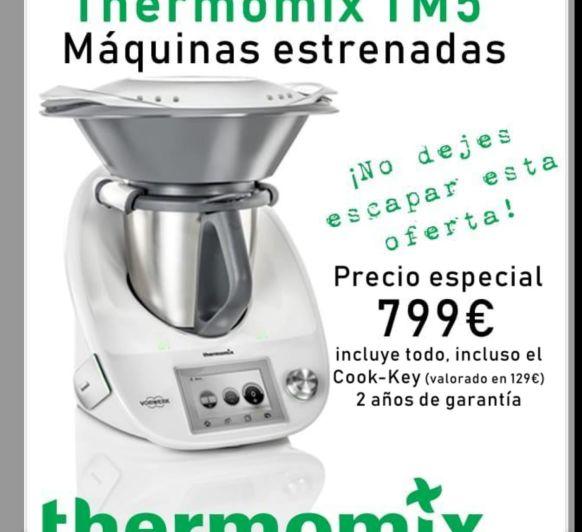 Thermomix® TM5 ESTRENADAS¡¡¡ NO TE LO PIERDAS!!! POCAS UNIDADES