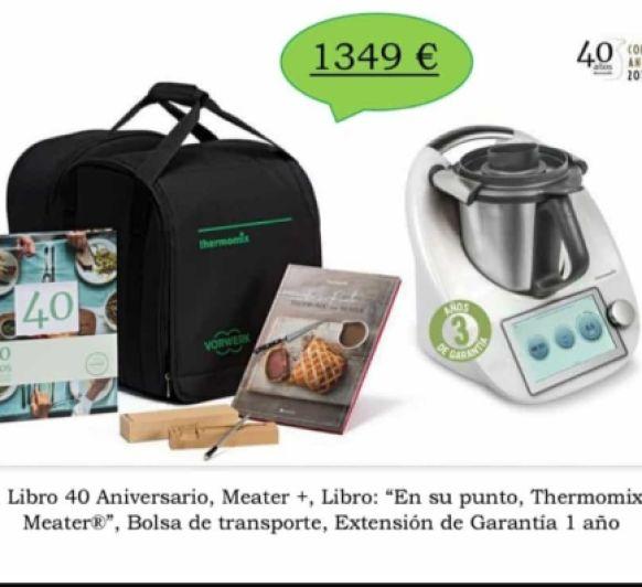 Thermomix® 40 aniversario con 3 años de garantia