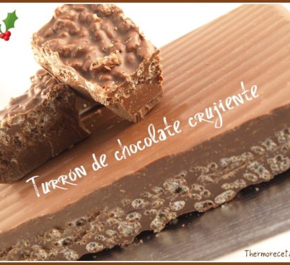 TURRÓN CRUJIENTE DE CHOCOLATE Thermomix®