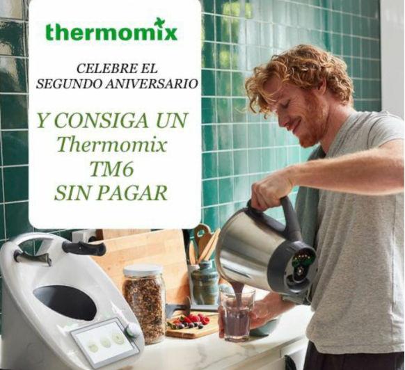 Thermomix® th6 sin pagar